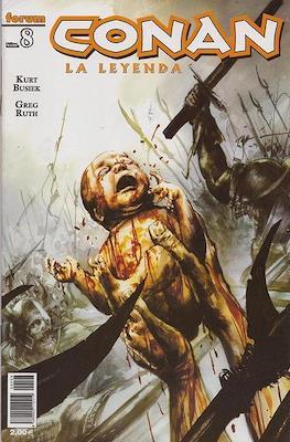 Conan. La Leyenda (Grapa 28-116 pp) #8