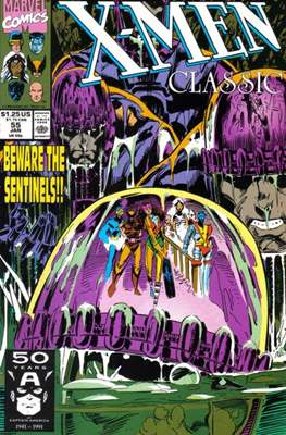 Classic X-Men / X-Men Classic (Comic Book) #55