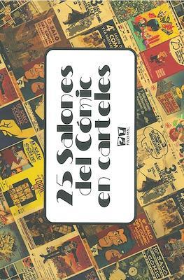 25 Salones del Cómic en carteles