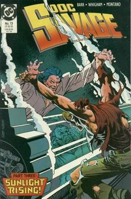 Doc Savage Vol 2 (1988-1990) (Comic-book.) #13