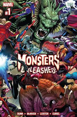 Monsters Unleashed (2017 Variant Cover) (Comic-book) #1