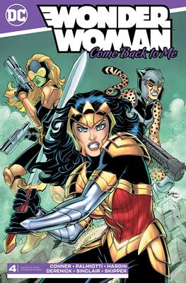 Wonder Woman: Come Back to Me (Comic Book) #4