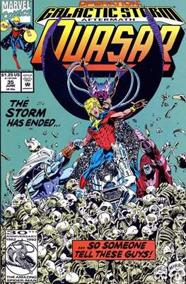 Quasar Vol. 1 (1989-1994) (Comic.Book) #35