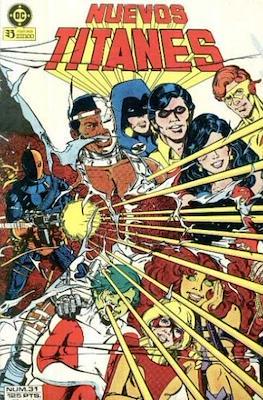 Nuevos Titanes Vol. 1 (1984-1988) (Grapa 40 pp) #31