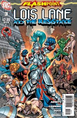 Flashpoint: Lois Lane and the Resistance (2011) (Comic Book) #3