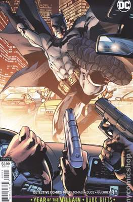 Detective Comics Vol. 1 (1937-2011; 2016- ... Variant Covers) (Cómic Book) #1009
