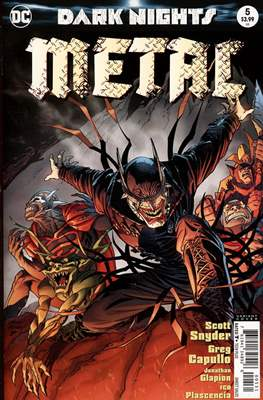 Dark Nights: Metal (Variant Covers) (Comic Book) #5.3