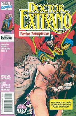 Doctor Extraño. Versos Vampíricos (Grapa 24 pp) #1