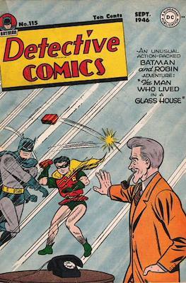 Detective Comics Vol. 1 (1937-2011; 2016-) (Comic Book) #115