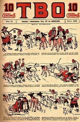 TBO (1917-1938) (Cuaderno) #505