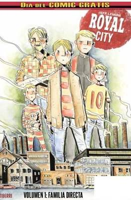 Royal City Familia directa - Día del Cómic Gratis