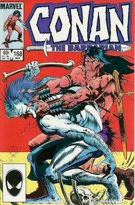 Conan The Barbarian (1970-1993) (Comic Book 32 pp) #168