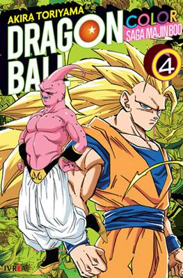 Dragon Ball Color: Saga Majin Boo #4