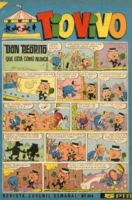 Tio Vivo. 2ª época (1961-1981) (Grapa) #304