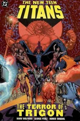 The New Teen Titans: The terror of Trigon