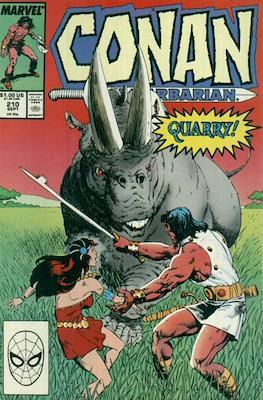 Conan The Barbarian (1970-1993) (Comic Book 32 pp) #210