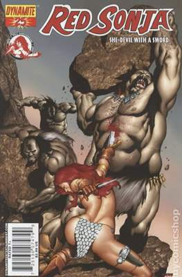 Red Sonja (Variant Cover 2005-2013) #25.2