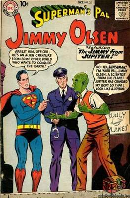 Superman's Pal, Jimmy Olsen / The Superman Family (Comic Book) #32