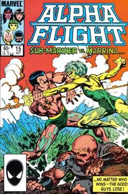 Alpha Flight Vol. 1 (1983-1994) (Comic Book) #15