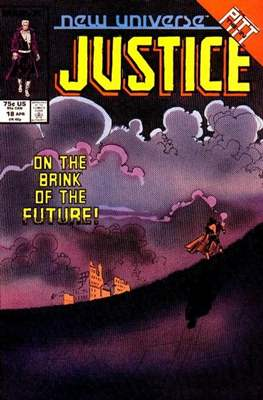 Justice. New Universe (1986) (Grapa.) #18