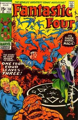 Fantastic Four Vol. 1 (1961-1996) (saddle-stitched) #110