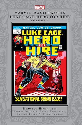 Marvel Masterworks Luke Cage Hero for Hire / Power Man (Hardcover 336-312 pp) #1