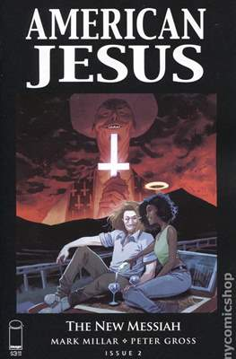 American Jesus: The New Messiah (Variant Cover) #2