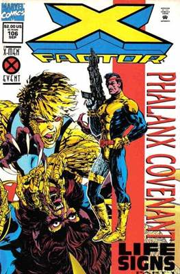 X-Factor Vol. 1 (1986-1998) (Comic Book) #106