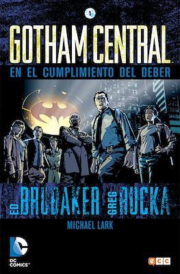 Gotham Central (Cartoné) #1