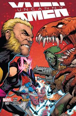 Uncanny X-Men (Vol. 4 2016-2017) #5