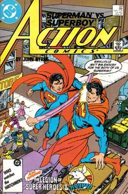 Action Comics Vol. 1 (1938-2011; 2016-) (Comic Book) #591
