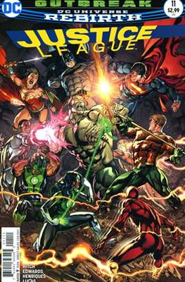 Justice League Vol. 3 (2016-2018) (Comic-book) #11