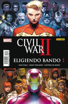Civil War II: Eligiendo bando (2016-2017) (Grapa) #1