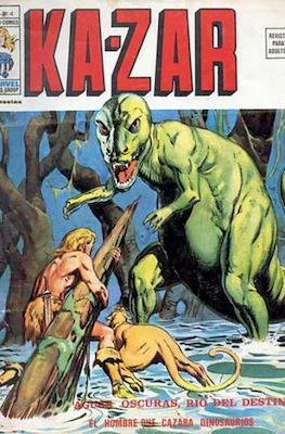 Ka-Zar (1974-1977) (Rústica 40 pp) #4