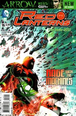 Red Lanterns (2011 - 2015) New 52 #16