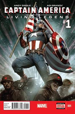 Captain America: Living Legend (2013)
