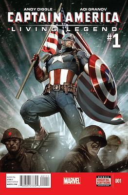 Captain America: Living Legend (2013) (Comic Book) #1
