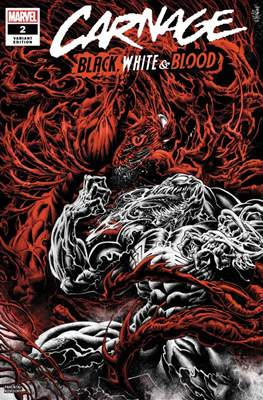 Carnage: Black, White & Blood (Variant Cover) #2.2
