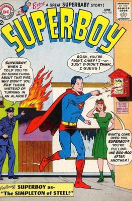 Superboy Vol.1 / Superboy and the Legion of Super-Heroes (Comic Book) #105