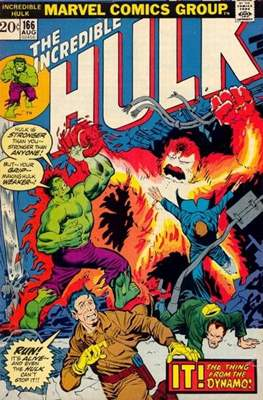 The Incredible Hulk Vol. 1 (1962-1999) (Comic Book) #166