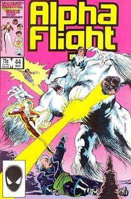 Alpha Flight vol. 1 (1983-1994) #44