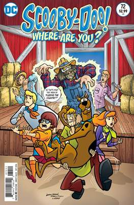 Scooby-Doo! Where Are You? (Comic Book) #72