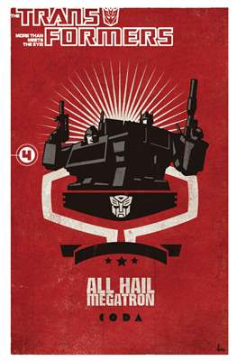 Transformers: All Hail Megatron (Softcover) #4