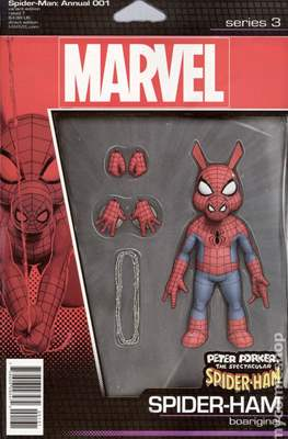 The Spider-Man Annual Presents Peter Porker The Spectacular Spider-Ham (Variant Cover) #1.1