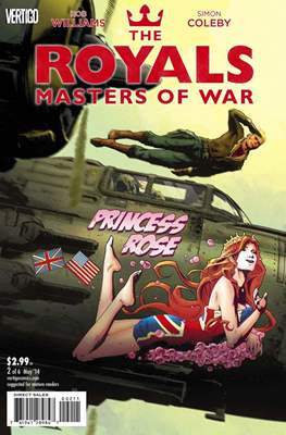 The Royals: Masters of War (Comic Book) #2