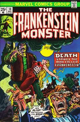 The Frankenstein monster (Grapa) #10