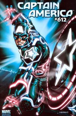 Captain America Vol. 5 (2005-2011 Variant Cover) (Comic Book) #612
