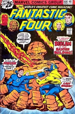 Fantastic Four Vol. 1 (1961-1996) #169