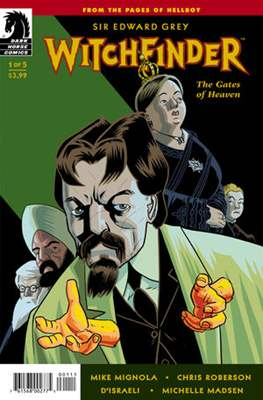 Witchfinder (comic-book) #21