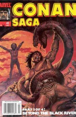 Conan Saga (Comic-book) #40